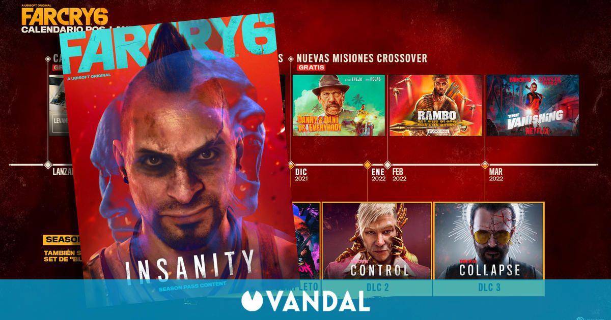 Far Cry 6 muestra sus DLC y misiones con Danny Trejo, Rambo y Stranger Things