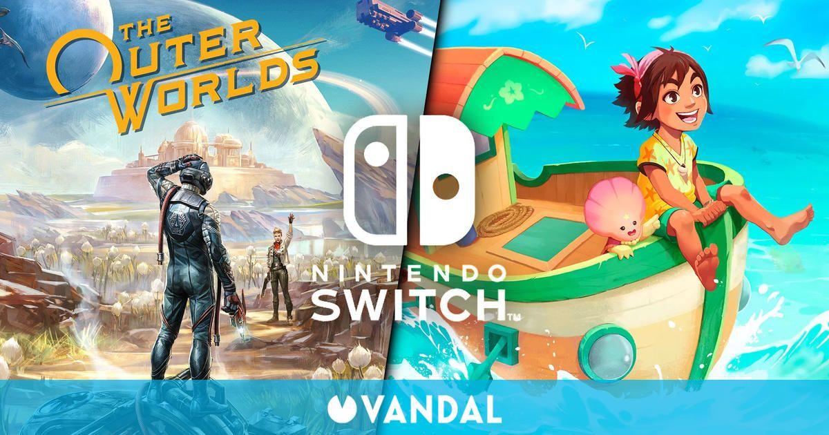 Ofertas en Switch: The Outer Worlds, Summer in Mara, Star Wars Jedi Knight: Jedi Academy…