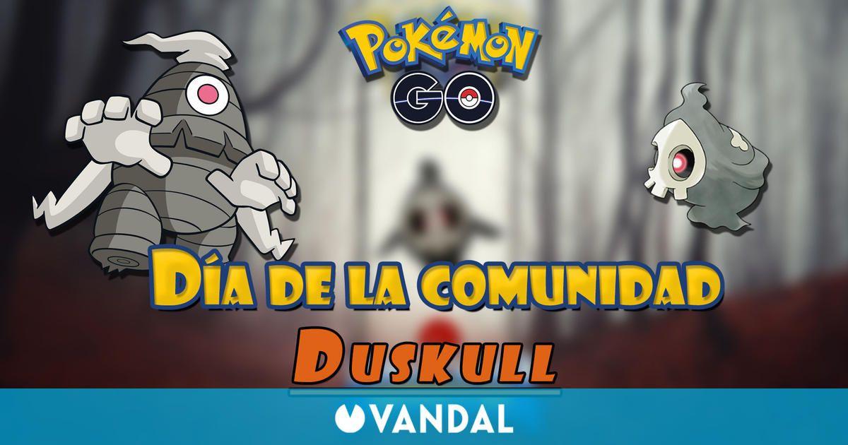 Pokémon GO detalla el Día de la Comunidad de octubre 2021 con Duskull; fecha y bonus
