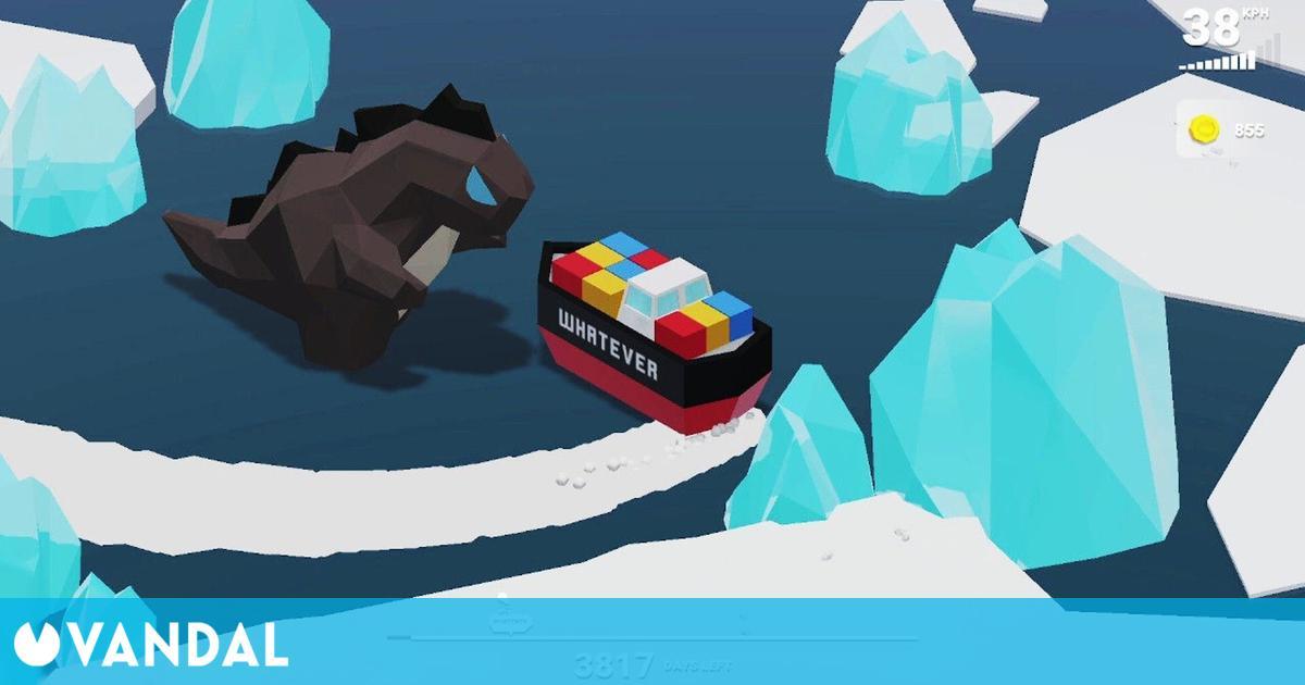 Así es WHATEVER, un juego inspirado en el barco que bloqueó el Canal de Suez