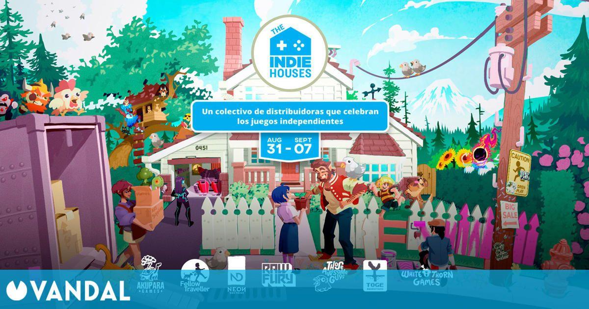 Ya disponible The Indie Houses, un evento online con anuncios, demos y ofertas en Steam