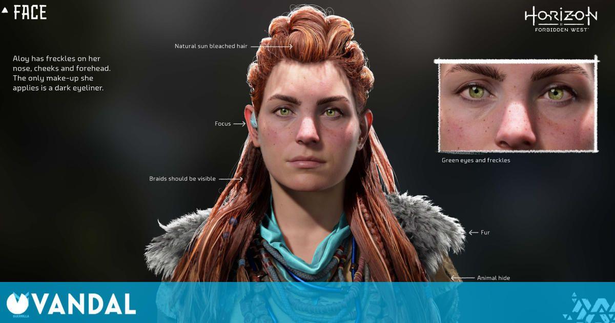 Horizon Forbidden West: La guía de cosplay de Aloy muestra con todo detalle su diseño
