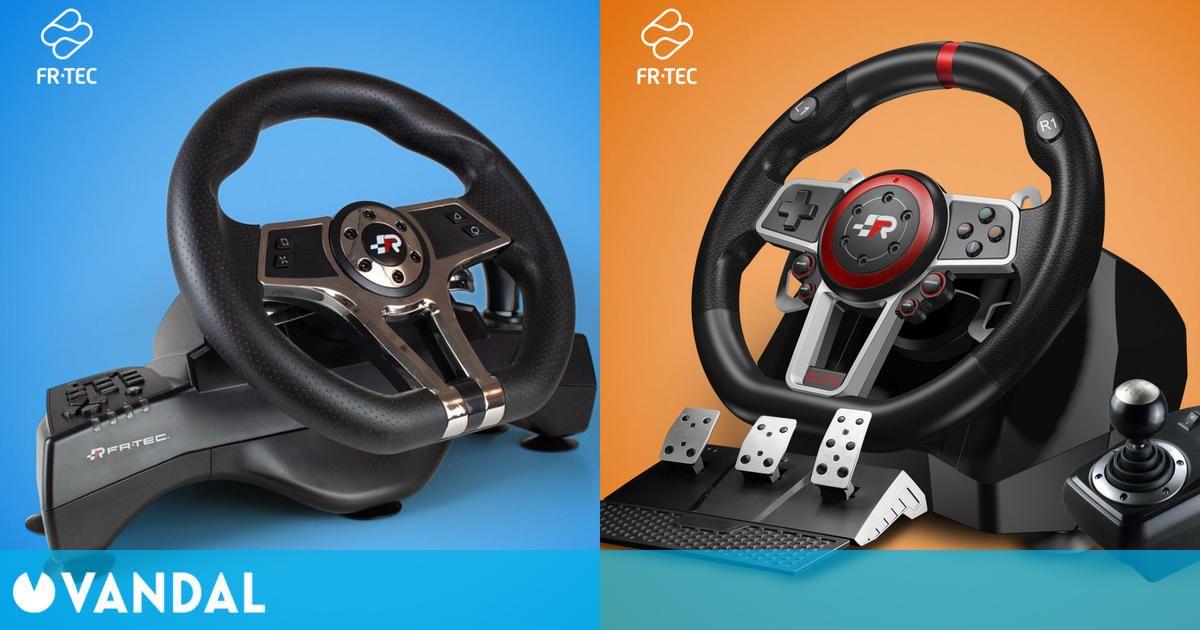 El fabricante FR-TEC presenta dos volantes de simulación para todas las consolas