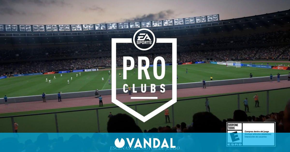 FIFA 22 muestra Clubes Pro y sus mejoras en un nuevo tráiler
