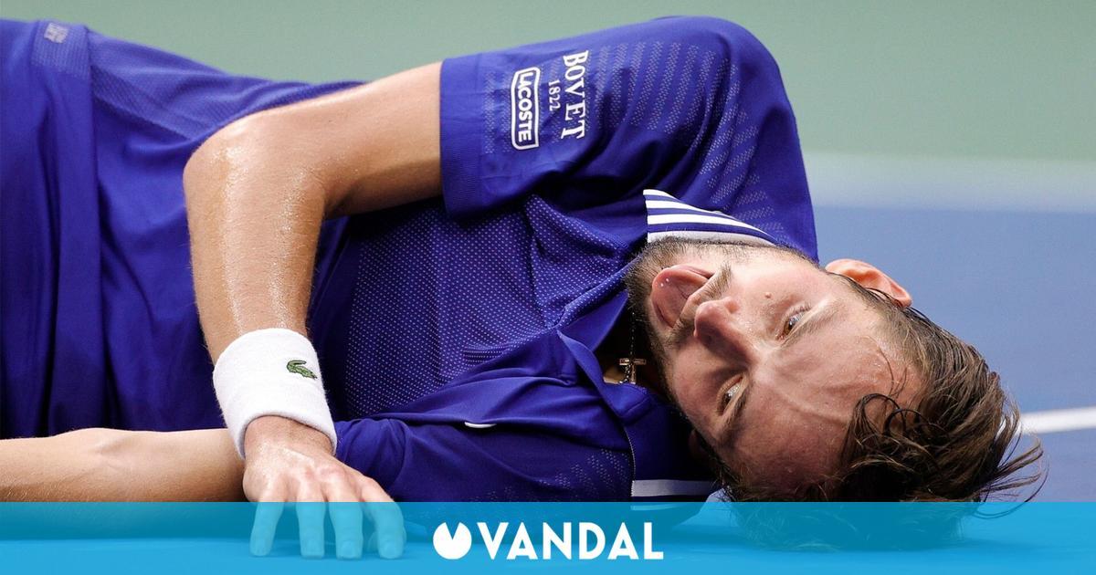 El tenista Daniil Medvedev celebró su victoria en el US Open al más puro estilo de FIFA