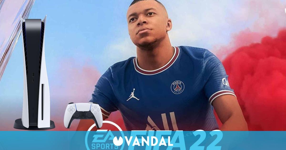FIFA 22 detalla sus características en PS5: DualSense, audio 3D y más