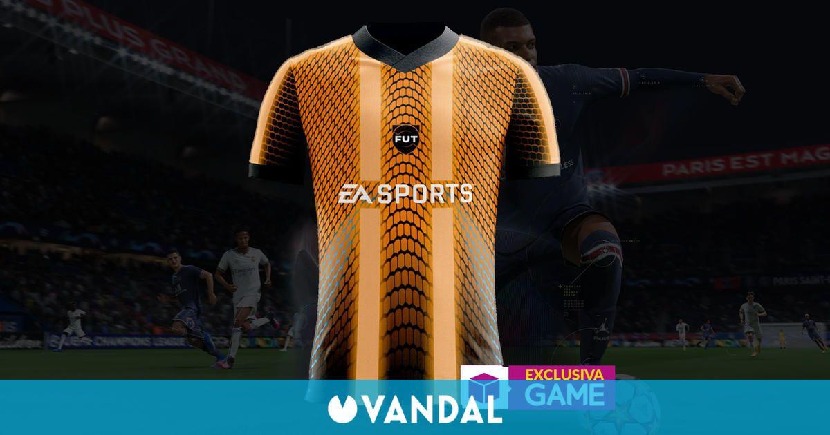 GAME presenta en exclusiva la camiseta oficial de FIFA 22