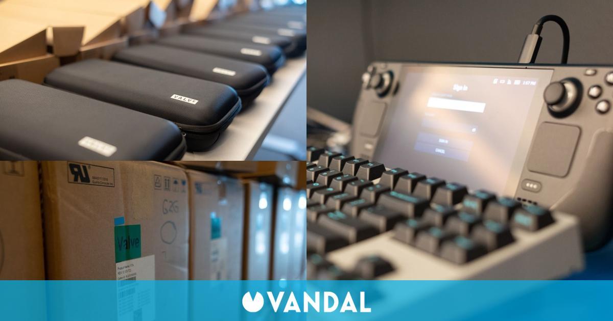 Valve ya está enviando dev-kits de Steam Deck a los estudios de desarrollo