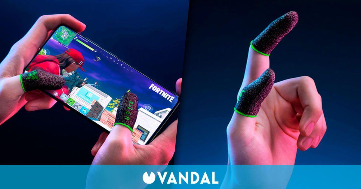Razer crea unos 'dedales' para jugadores que utilizan mucho las pantallas táctiles