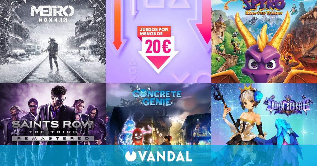 Ofertas PS Store juegos por menos de 20 euros: Metro Exodus, Narita Boy, Concrete Genie…