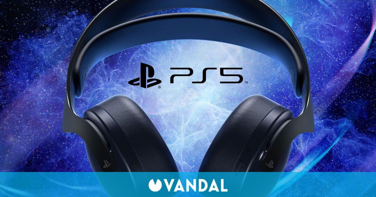 Los auriculares inalámbricos Pulse 3D de PS5 recibirán el modelo Midnight Black en octubre