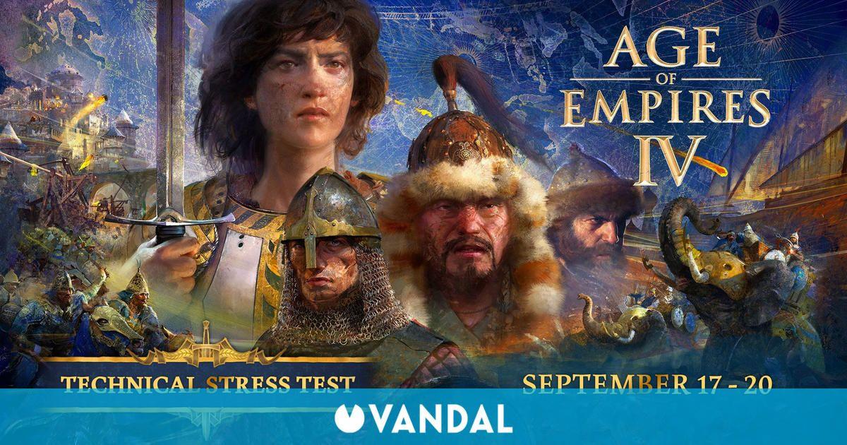 Age of Empires 4 tendrá una prueba técnica gratuita este fin de semana