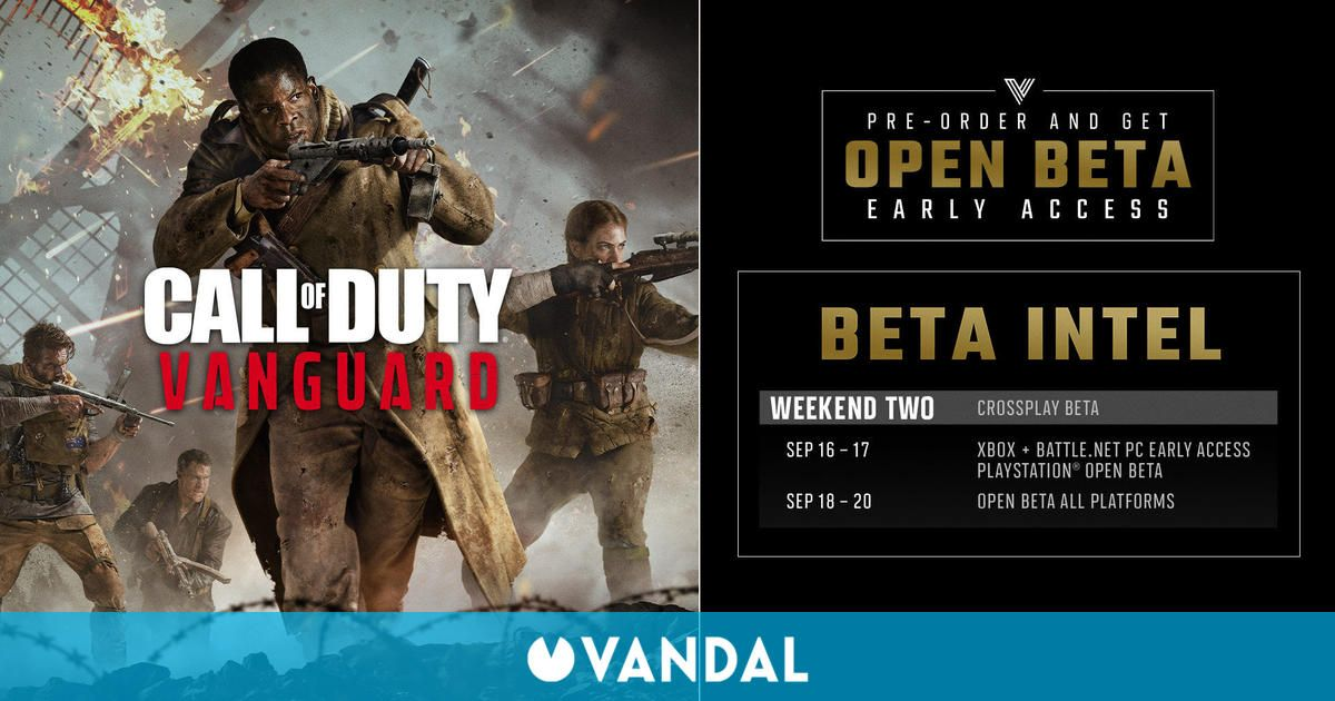 Call of Duty Vanguard: La beta llega este fin de semana a Xbox y PC – Cómo acceder a ella