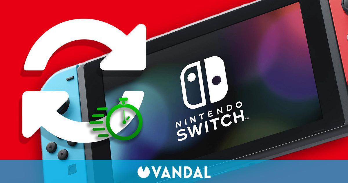 Switch habría mejorado los tiempos de carga con su actualización 13.0.0