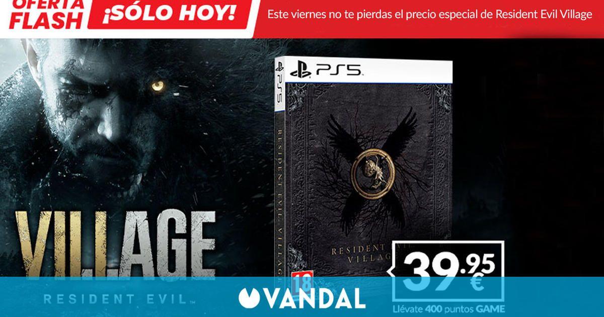 Resident Evil: Village edición steelbook para PS5 a 39,95 sólo hoy en Game España