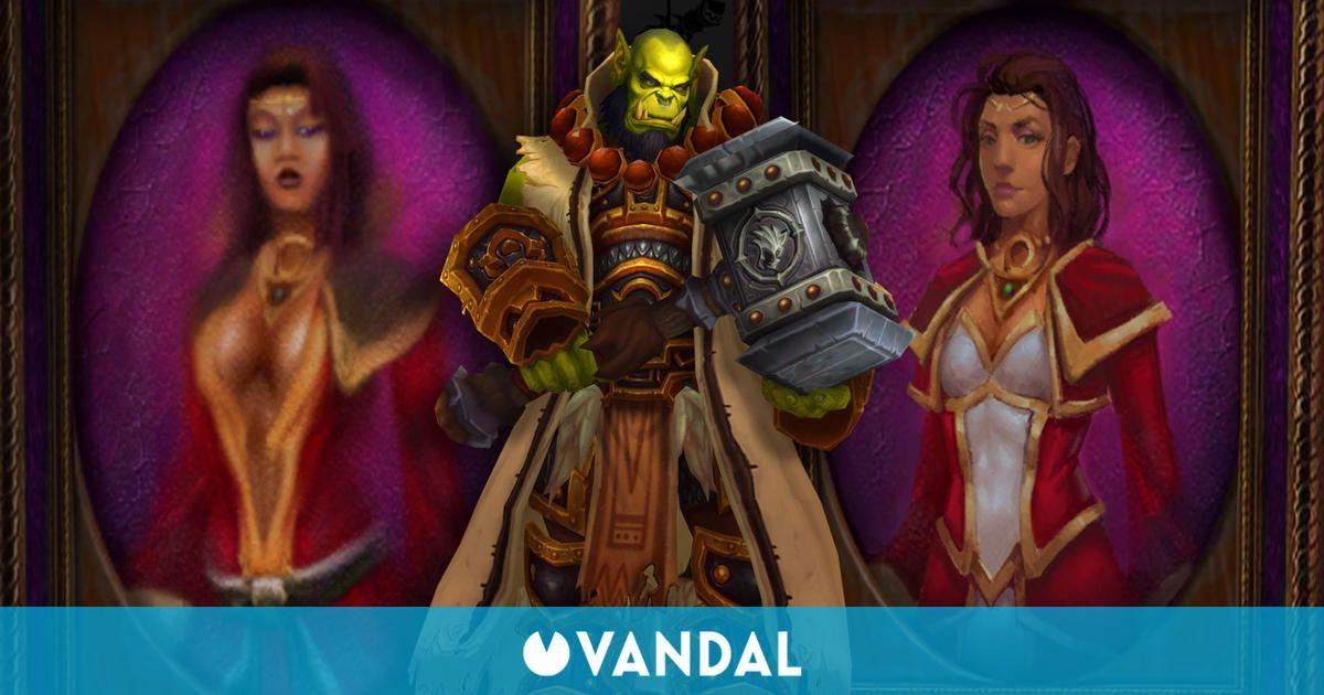 Blizzard sustituye dos cuadros de World of Warcraft por unos menos sexualidados