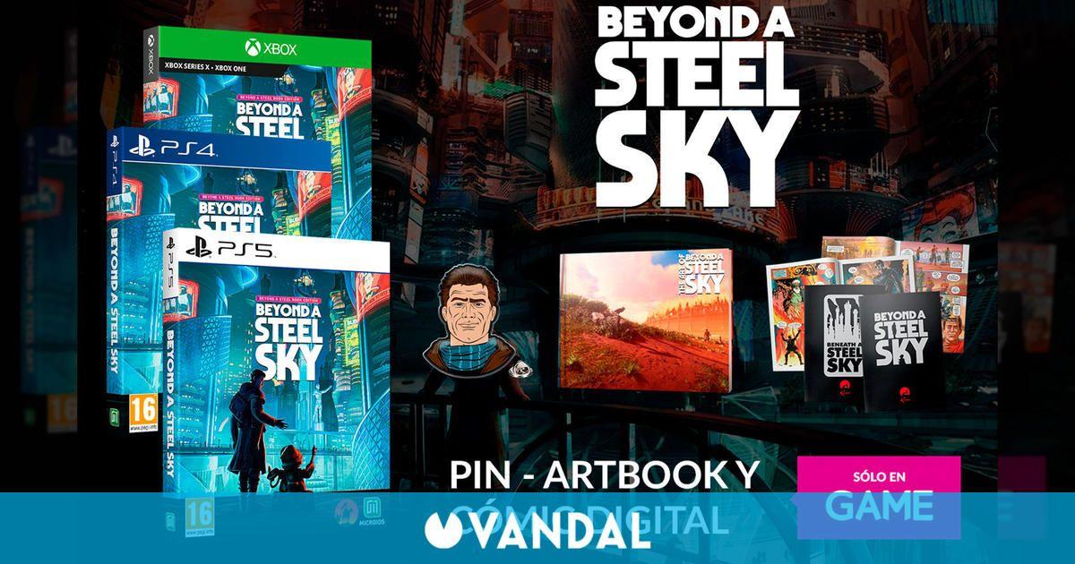 Reserva Beyond a Steel Sky en GAME y llévate tres regalos exclusivos con cualquier edición