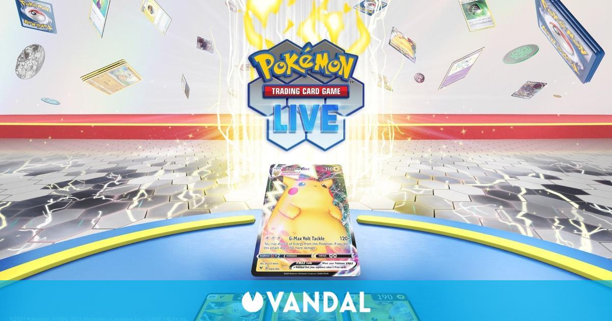 Pokémon Trading Card Game Live es un nuevo juego de cartas coleccionables para PC y móviles