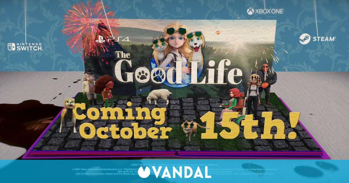 The Good Life fija su fecha de lanzamiento para el 15 de octubre en PS4, Xbox, PC y Switch