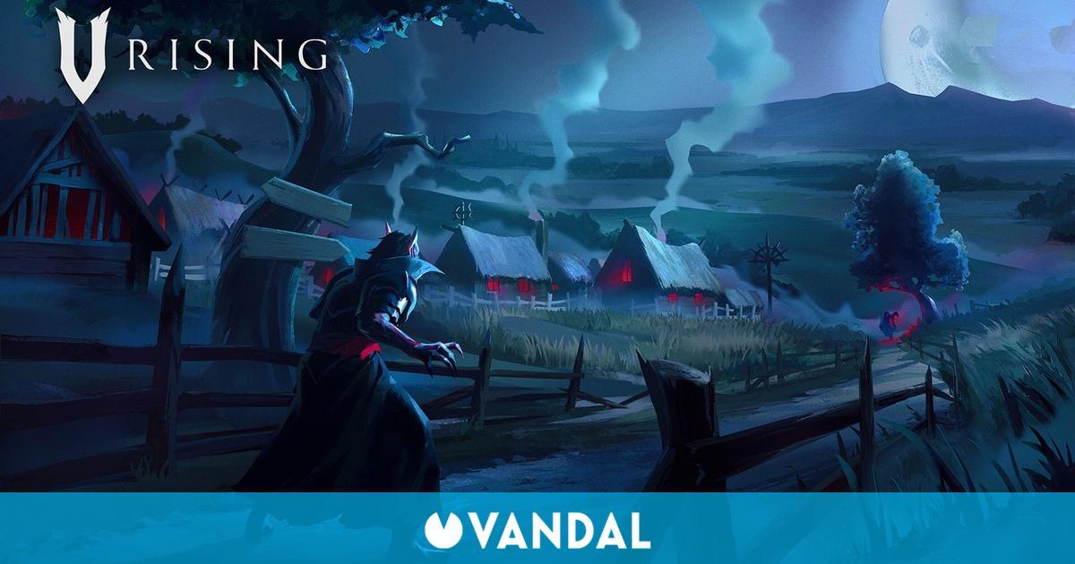 V Rising, un juego de supervivencia que nos convierte en vampiros, muestra su jugabilidad