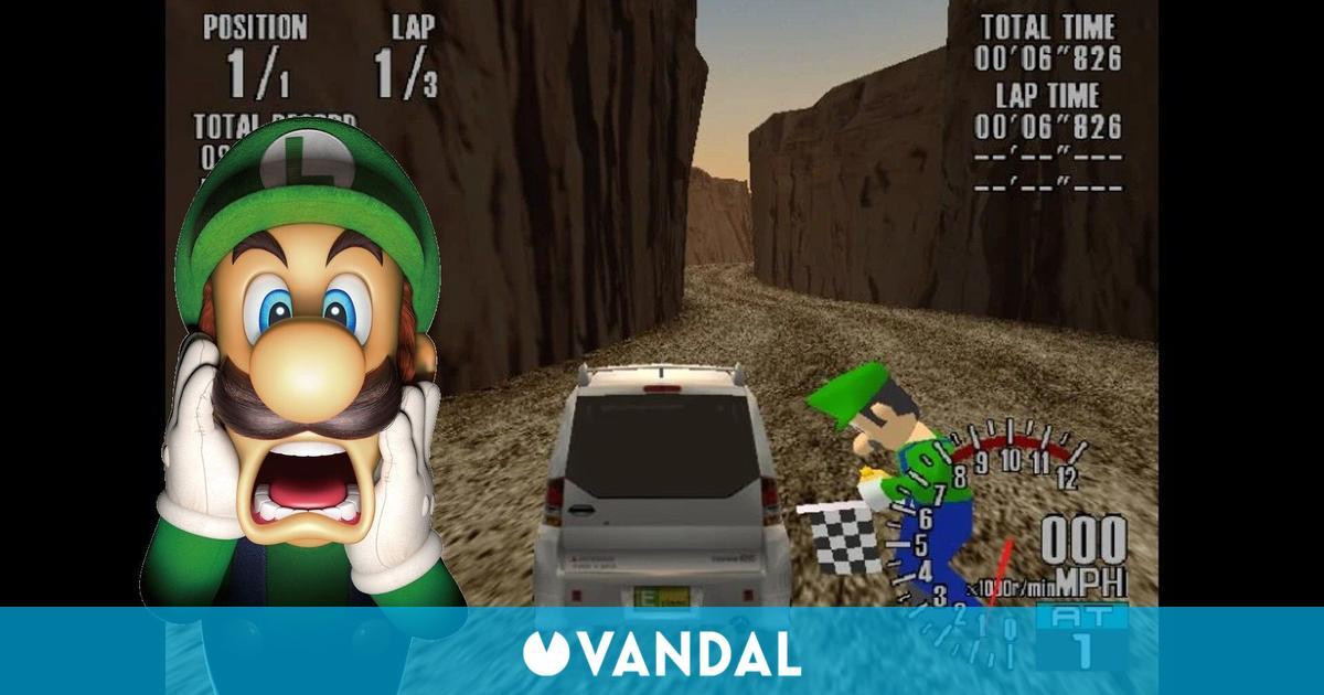 Encuentran a Luigi en la saga SEGA GT de Dreamcast