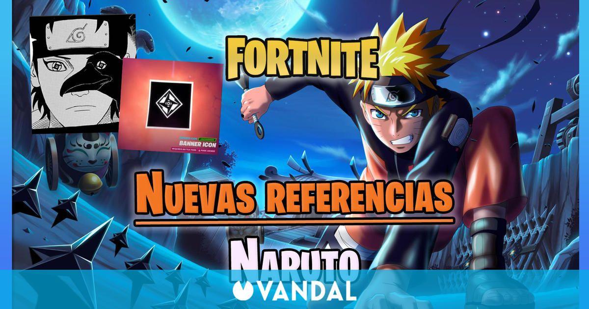 Fortnite: Nuevas referencias a Naruto avivan la llegada de su skin