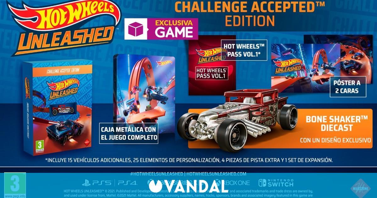 GAME detalla la Edición Challenge Accepted de Hot Wheels Unleashed