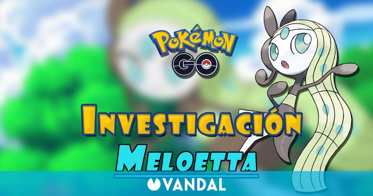 Pokémon GO: Cómo conseguir a Meloetta – Tareas y recompensas de Encuentra tu voz