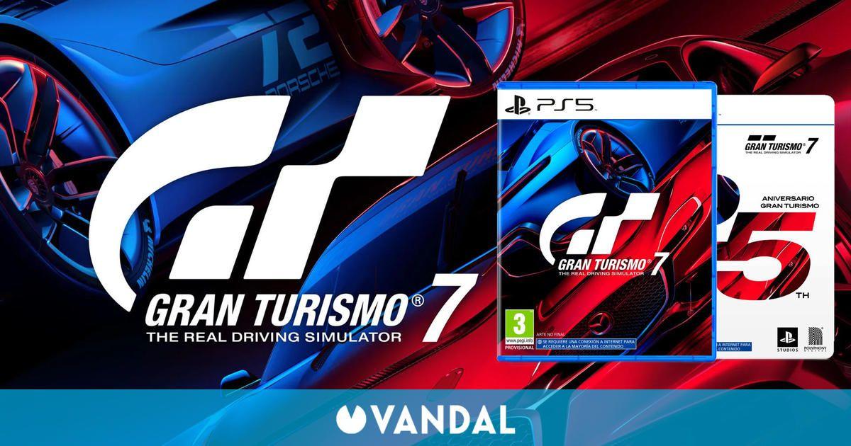 Gran Turismo 7 ya se puede reservar en físico, digital y en su edición 25 Aniversario