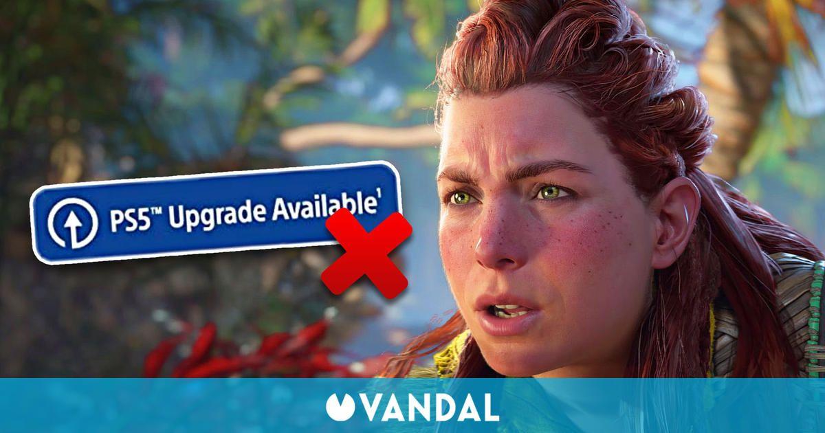 Horizon Forbidden West no tendrá actualización gratuita de PS4 a PS5 en todas sus ediciones