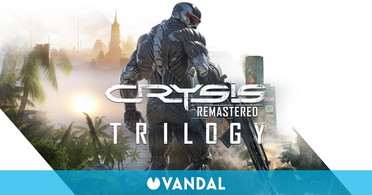 Crysis Remastered Trilogy se lanzará el 15 de octubre: Así son sus gráficos vs los originales