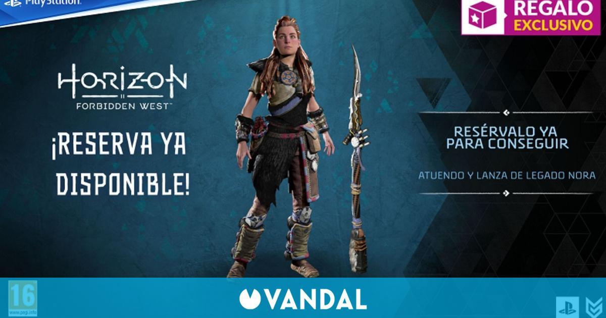 GAME abre las reservas de Horizon Forbidden West y sus ediciones especiales