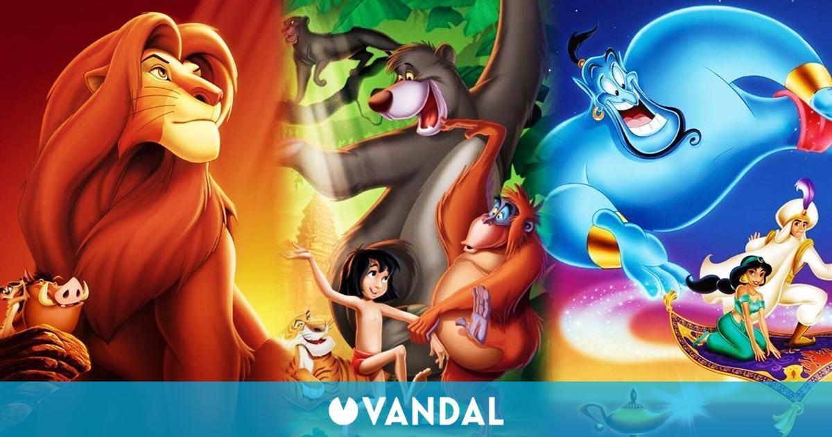 Aladdin y El Libro de la Selva de Super Nintendo se incluirán en la nueva colección de Disney