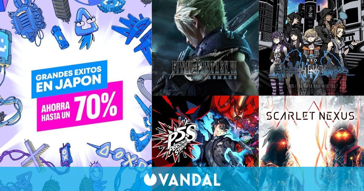 Ofertas PS Store Grandes éxitos en Japón: FF7 Remake, Yakuza Like a Dragon, Scarlet Nexus…