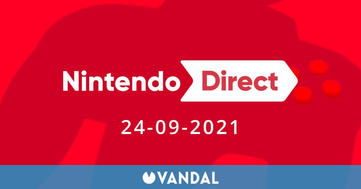 Nintendo celebrará un Direct el 24 de septiembre a las 0:00h (hora peninsular española)