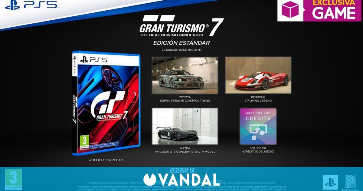 GAME abre las reservas de Gran Turismo 7 con DLC exclusivo de regalo