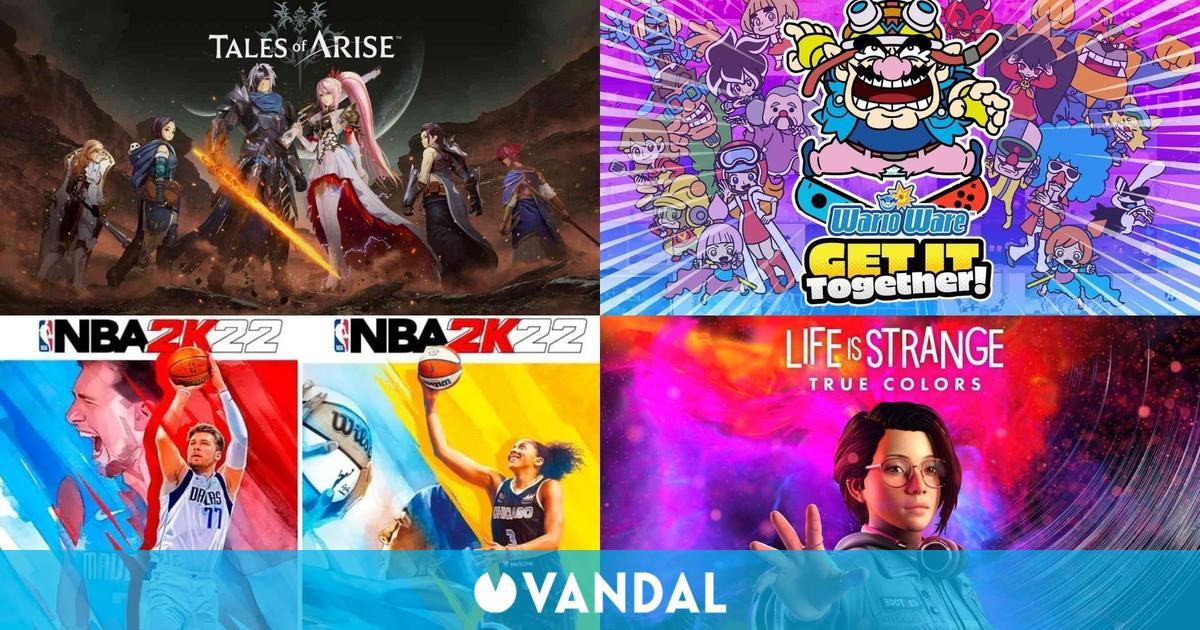 Ventas España: NBA 2K22, Tales of Arise, WarioWare, Life is Strange: True Colors…