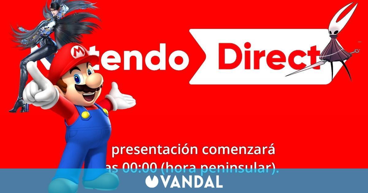 Comienza el Nintendo Direct – Streaming EN DIRECTO