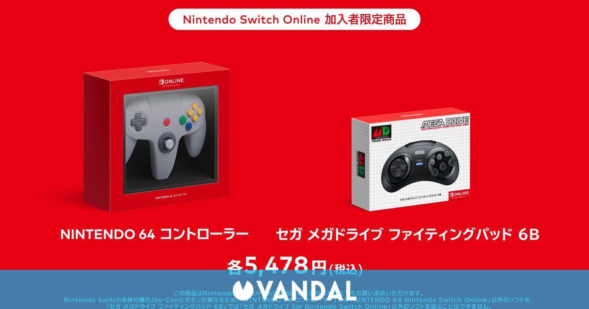 Nintendo Switch recibirá exclusivamente en Japón el mando de Sega Mega Drive de seis botones