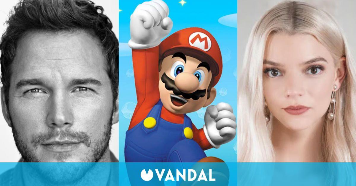 La película de Mario llega en 2022 con Chris Pratt, Anya Taylor-Joy y Charlie Day