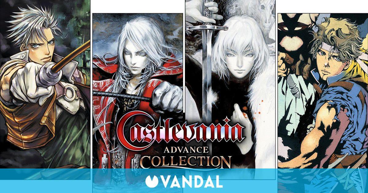 Castlevania Advance Collection ya a la venta para Nintendo Switch