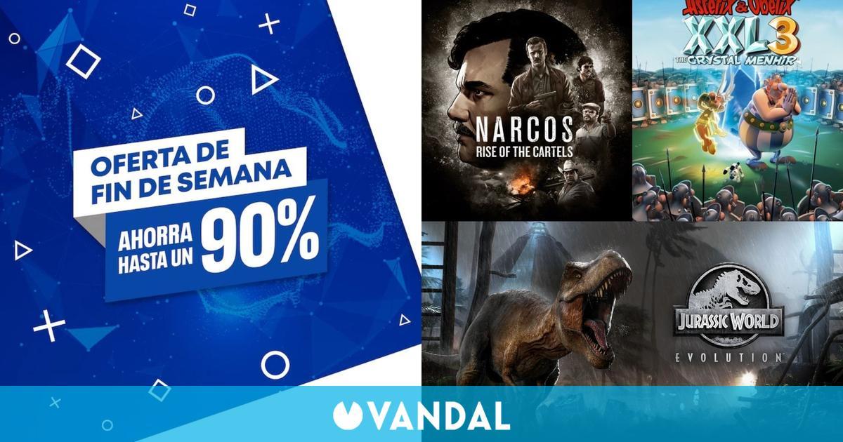 Ofertas del fin de semana en PS Store: juegos de PS4 con hasta un 90 % de descuento