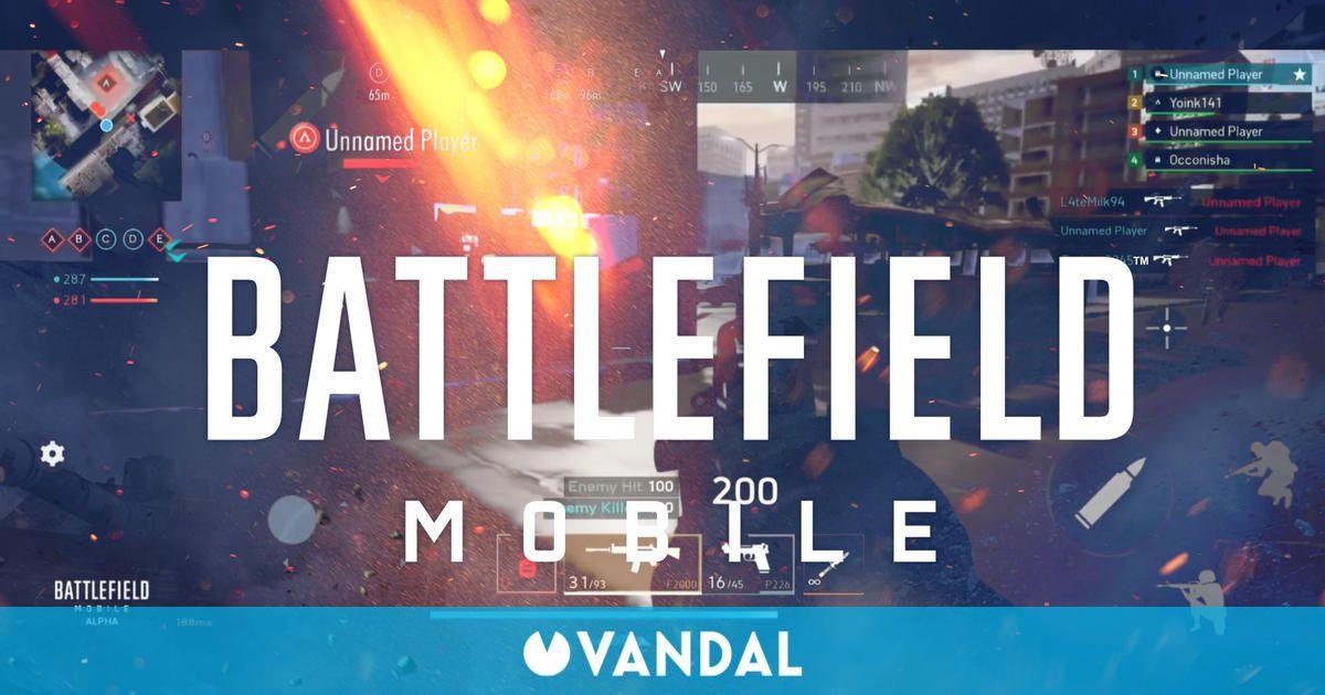 Battlefield Mobile se muestra en sus primeros vídeos gameplay