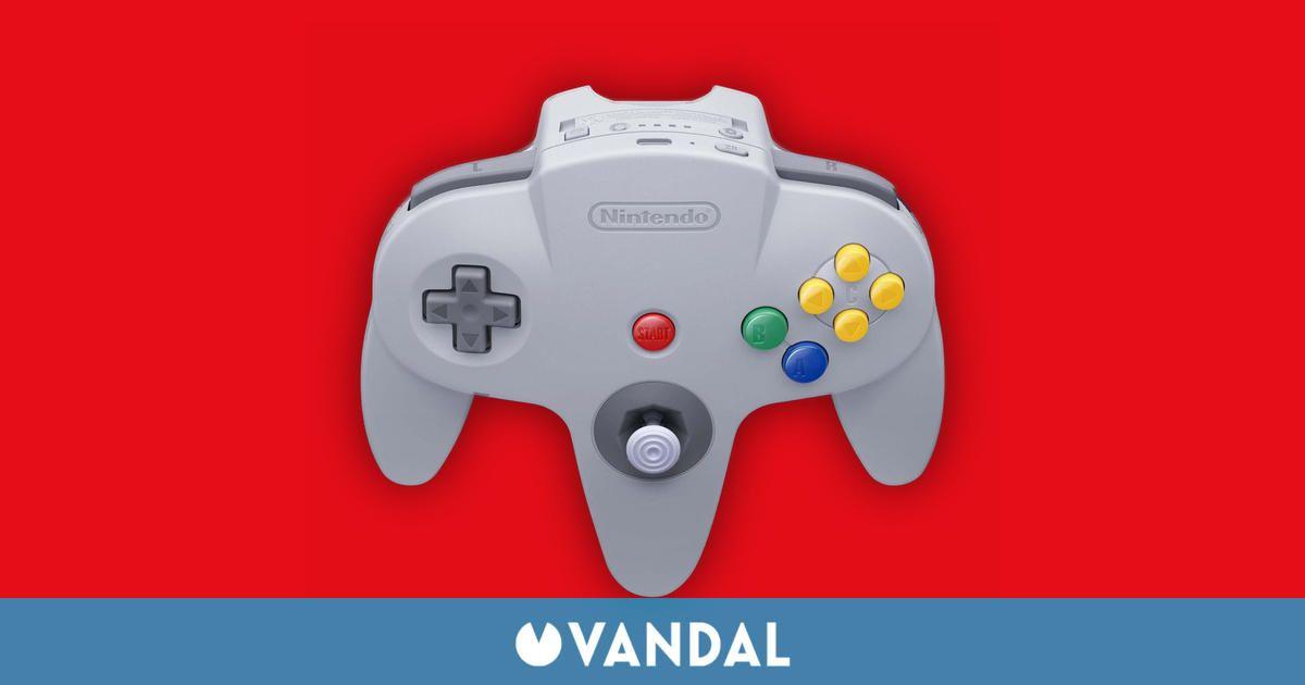El mando de Nintendo 64 para Switch tendrá más botones que el original