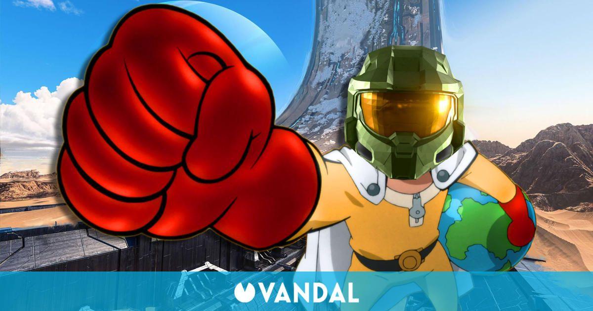 Halo Infinite: La comunidad descubre un divertido bug que permite dar superpuñetazos