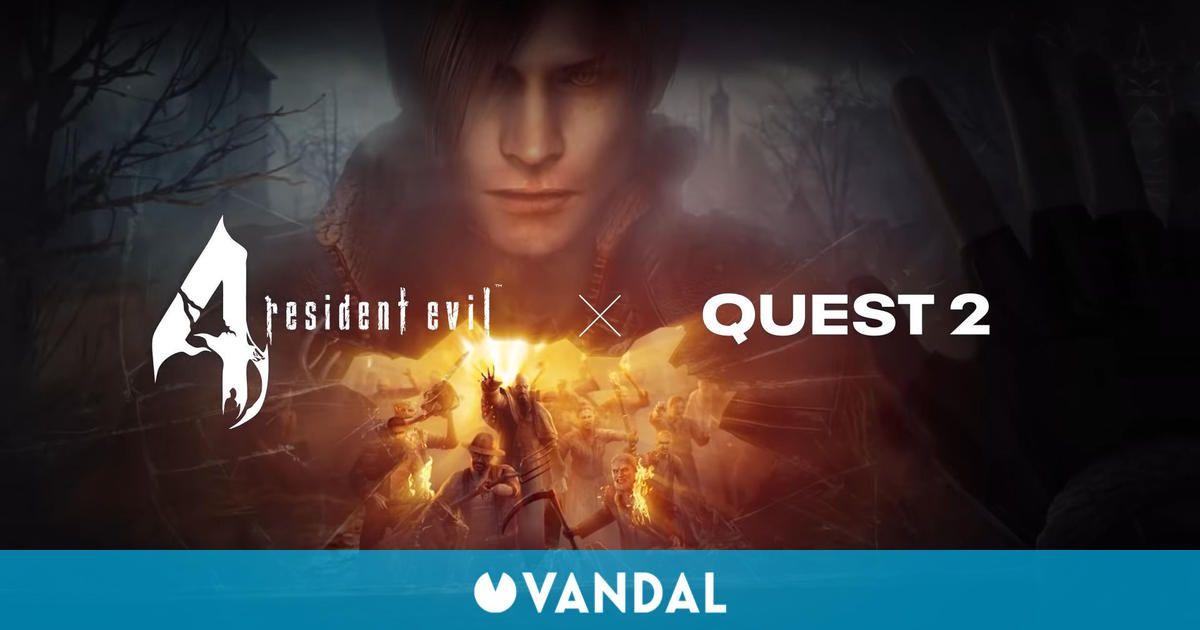 Resident Evil 4 VR se lanza el 21 de octubre y muestra un nuevo tráiler y gameplay
