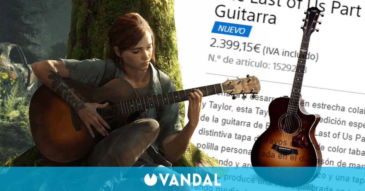 La guitarra de Ellie en The Last of Us 2 ya se puede comprar en España por 2400 euros