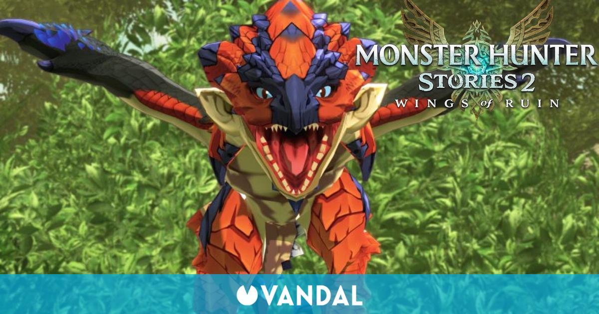 Monster Hunter Stories 2 se actualiza a su versión 1.4.0 y estas son sus novedades