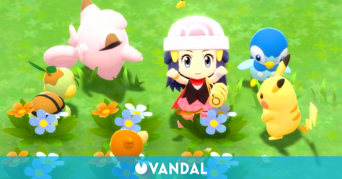 Pokémon Diamante Brillante y Perla Reluciente detalla más información en un nuevo tráiler