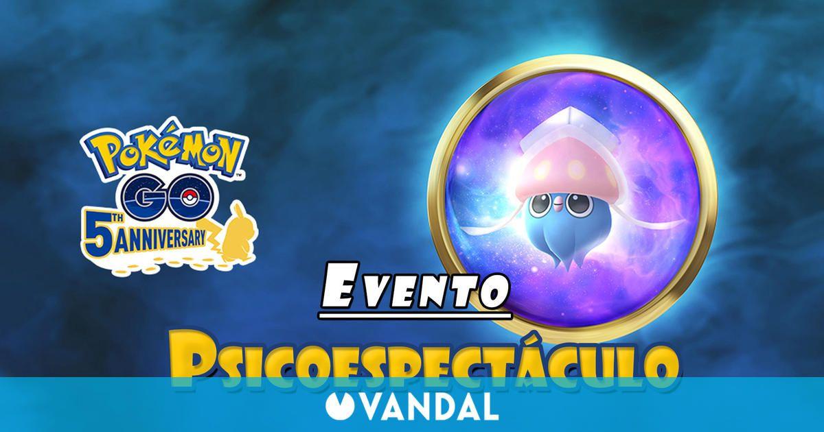 Pokémon GO: Inkay y Malamar debutan en el evento Psicoespectáculo; fechas y detalles